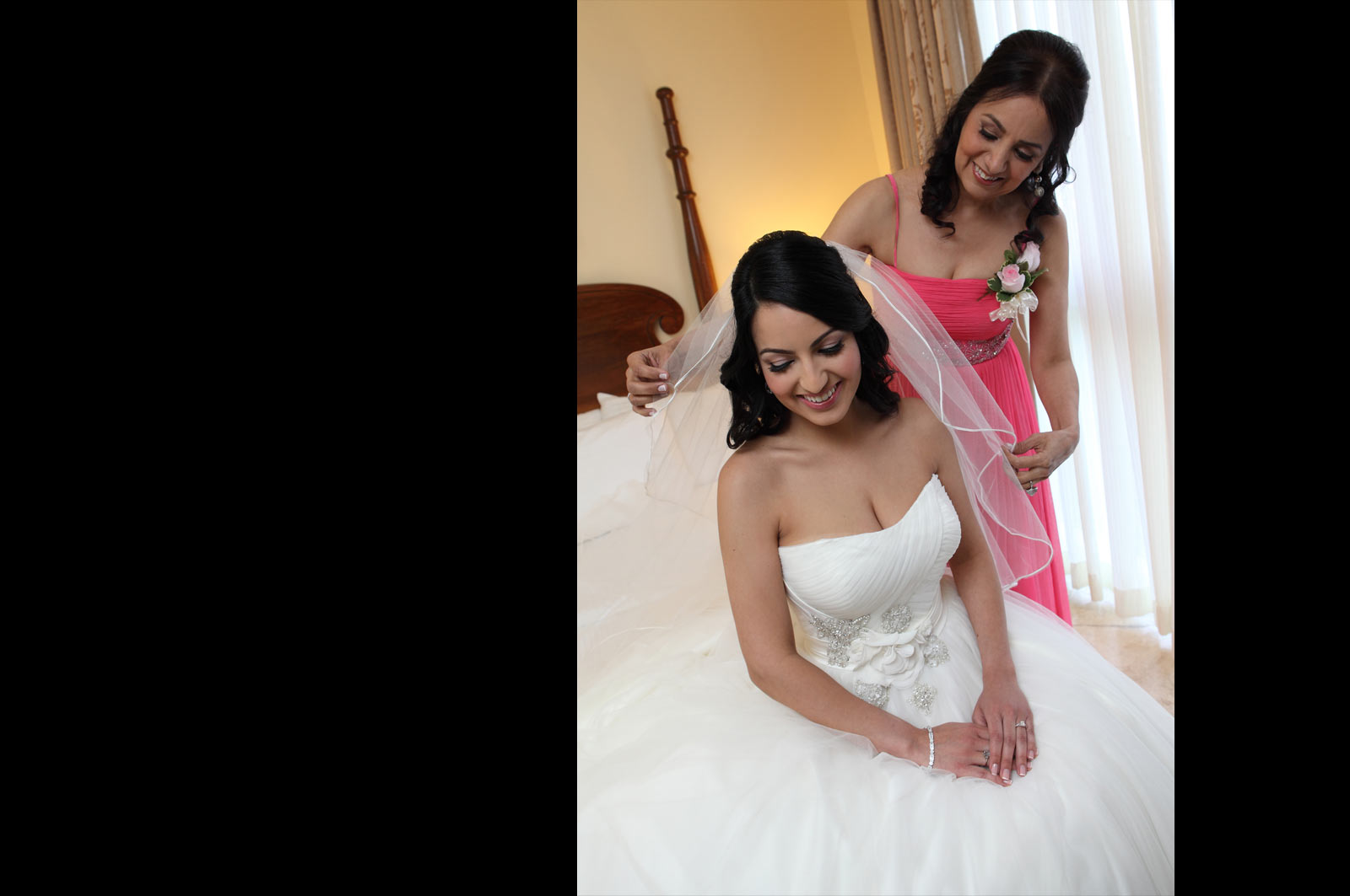 Mom and Daughter - Wedding Day - Bride's Mom