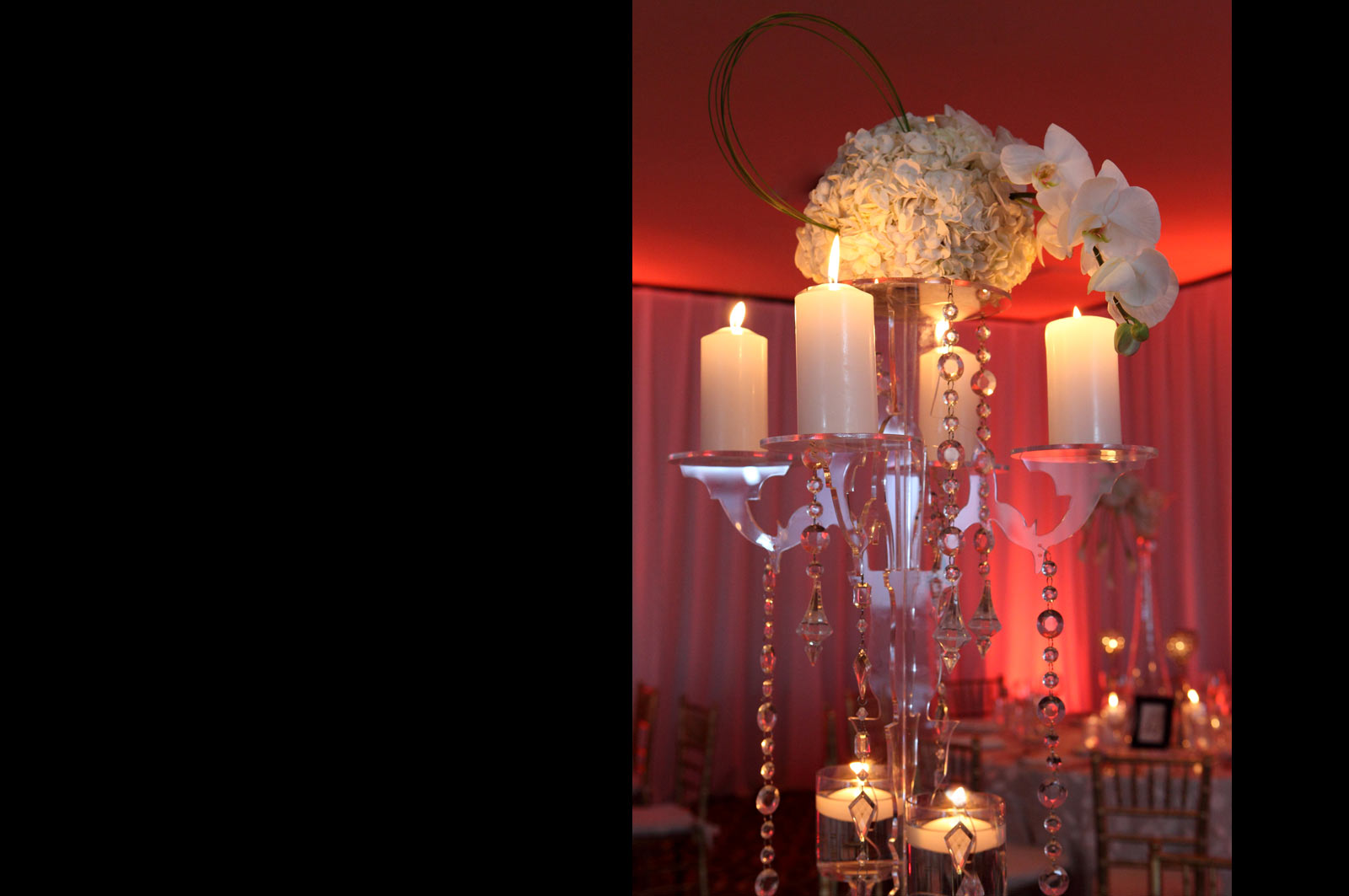 Wedding Candelabra - Centerpiece