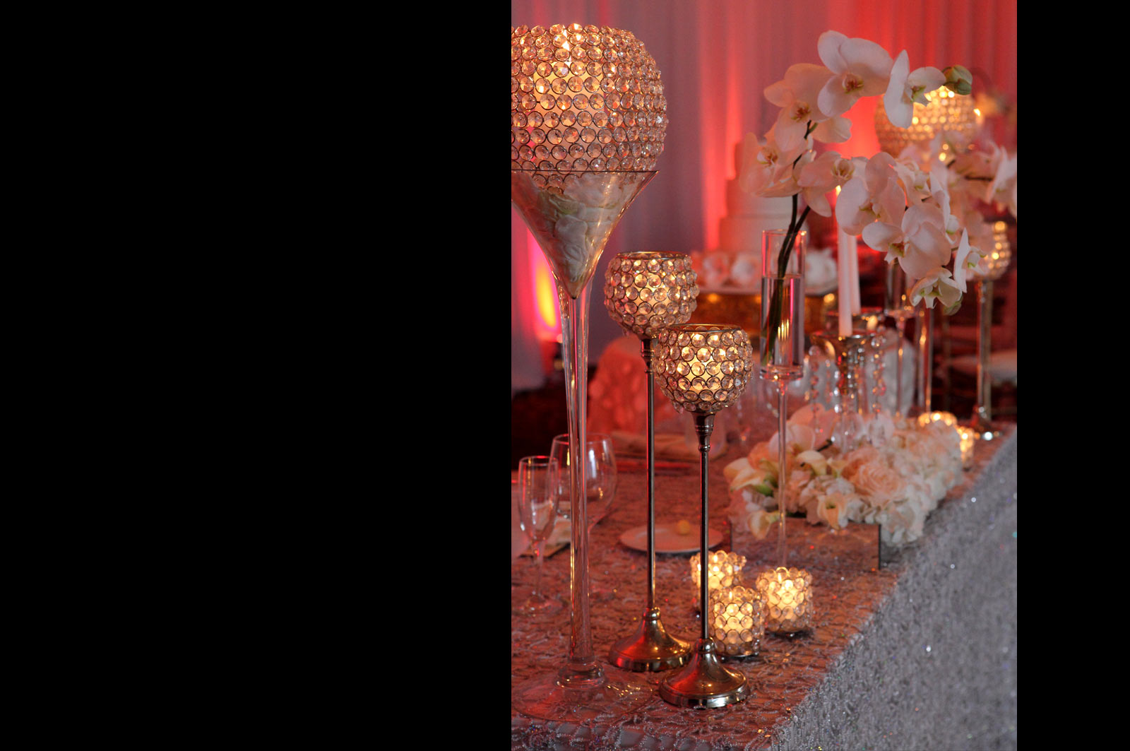 Candelabra in Reception and Wedding Decoration